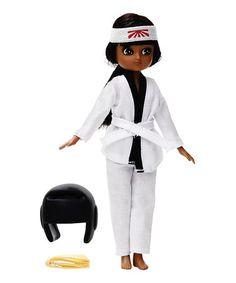 Kawaii Karate Lottie Doll #zulily #zulilyfinds
