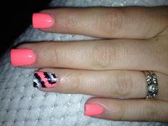 China glaze flip flop fantasy Ikat nails