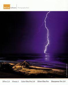 anthony ghiglia surf photography - Amazing Lightning shot...