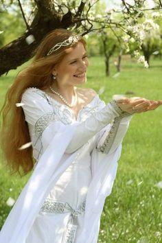 Celtic wedding dress - love it!