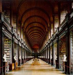 Trinity College.  Dublin.