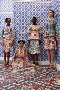 Fashion // #Pattern on Pattern #Africa