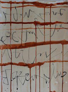 Jane Cornwell | Asemic Writing