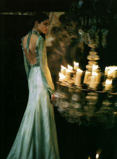 vogu italia, vogue italia, dress, freja beha erichsen, inspir, fashion photographi, gown, candl, paolo roversi