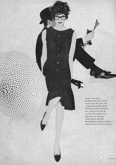 Anne St Marie, May Vogue 1958  By Karen Radkai
