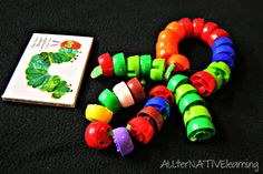 The Very Hungry Caterpillar Book and Complete Extension Activity | ALLterNATIVElearning playgroup idea, speech pathology activities, hungry caterpillar, eric carl, toddler curriculum, hungri caterpillar, preschool literaci