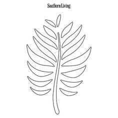 Pumpkin Carving Template | Fall Branch | SouthernLiving.com