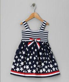 zulilycom girl, girl inspir, 4th of july dress, american girl, juli, stripe sundresscut, navi star