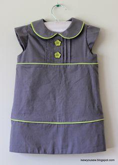 I Sew, You Sew: Pintuck Dress