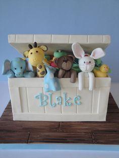 Toy Box - by Magical Cakes @ CakesDecor.com - cake decorating website