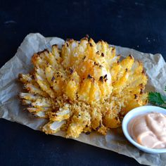 Buffalo Baked Blooming Onion - A new take on a copycat classic!