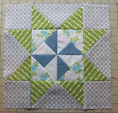 TUTORIAL: Pinwheel Star block (from The Crafty Quilter)