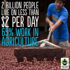 This #WorldFoodDay, imagine how many lives we could impact if everyone chose #FairTrade. Press 'like' to help us raise awareness about this important issue! http://BeFair.org/ #BeFair #food