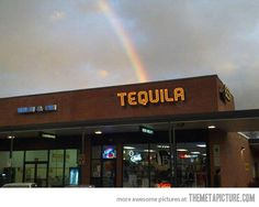 I finally found the end of the rainbow…