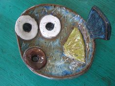 Pufferfish Blow Fish Bowl by ShoeHouseStudio on Etsy, $18.00