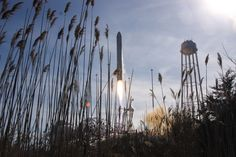 Orbital Sciences Corp. launched its Cygnus cargo spacecraft aboard its Antares rocket at 1:07 p.m. EST Thursday, Jan. 9, 2014, from the Mid-...