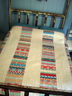 multi-strips quilt