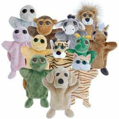 Lil Peepers Hand Puppets