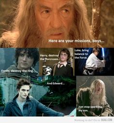 And that is why i love Gandalf XD