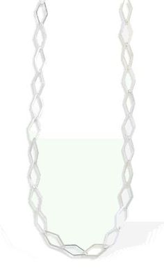 Diamond Shape Link Chain Necklace
