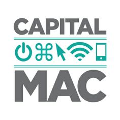 Logo for my local Apple Macintosh consulting firm, Capital Mac Service of Upstate New York