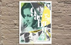"""'Garbage' gig poster by Doe Eyed 18""""x24"""" Signed & Numbered Edition of 25"""