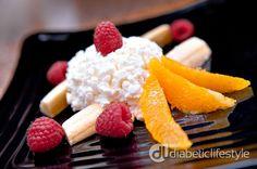 Great Diabetic Breakfast Recipe:  Breakfast Banana Split - Recipes for Diabetics picture #Diabetic #Breakfast #Recipes