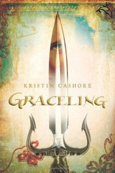 Graceling by Kristin Cashore. really liked this book.