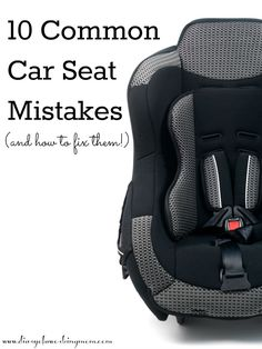 10 Common Car Seat M