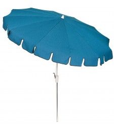Outdoor Umbrella, 8 1/2 Ft. 12-Rib Conventional - Auto-Tilt