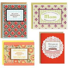 Mother's Day Card Kit - craft a handmade card to show you care!