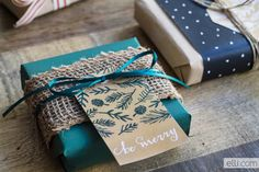 Free Printable Kraft Evergreen Holiday Gift Tags