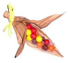Thanksgiving Craft: Indian Candy Corns