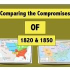 "In this activity, students will view 3 maps and answer questions regarding them with the goal of recognizing how the United States gained land in these two compromises. This is best used in an introduction to Westward Expansion or Manifest Destiny. I have also used it as a ""build-up"" to the Civil War."