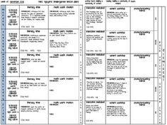 Programmable Lesson Plan Template