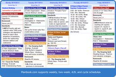 Definitely using this this year! www.planbook.com Love it! teacher lesson plans, planner, onlin teacher