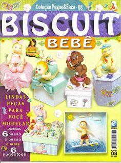 BISCUIT BEBE - COLEÇÃO PEGUE E FAÇA Nº 08 - Danielle - Picasa Web Albums revista cocina, magasin tidningar, fondant tutori, cake topper