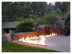 What a fire pit!