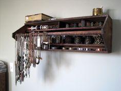 wall decor, tool box, craft, jewelry storage, vintage tools