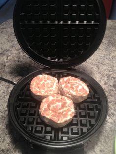 DIY Pillsbury Cinnamon Rolls Waffles! Super Easy to Make!