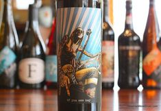 The Reverse Wine Snob: if you see kay Red Wine 2011 - Irreverent And Really Good. A very expressive wine, both in the glass and on the label. http://www.reversewinesnob.com/2014/08/if-you-see-kay-red-wine.html #wine #winelover