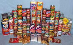 A 30-Day Emergency Food Supply For One Adult  (3,000 Calories per Day)
