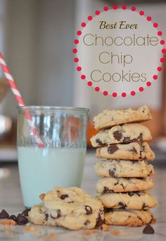 "This is the an old fashioned chocolate chip recipe that is divine! The cookies are moist, keep for at least a week, and are great even after being frozen. Makes 4 dozen cookies, turn out perfect every time and will become your ""go-to"" recipe for bringing treats anywhere! via lifeingrace"