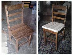 Cómo hacer una silla con tablas de palet | Hacer bricolaje es facilisimo.com