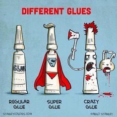 Crazy glue is my kinda glue - http://limk.com/news/crazy-glue-is-my-kinda-glue-101387779/