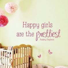 Any other saying for my girls' playroom?  I do LOVE this one!