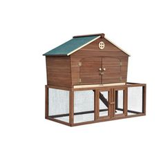 Merry Pet�Oil Based Stain Wood Chicken Coop
