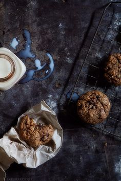 Sour Cherry and Chocolate Chip Oatmeal Cookies with Bakers Royale