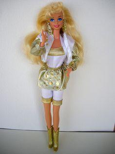 '90s Barbie -- Hollywood Hair Barbie