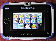 VTech InnoTab 3S Wi-Fi Learning Tablet Review {and a Giveaway!)